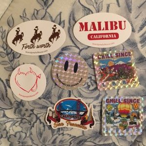 Brandy Melville Accessories - $10 STICKER BUNDLES!